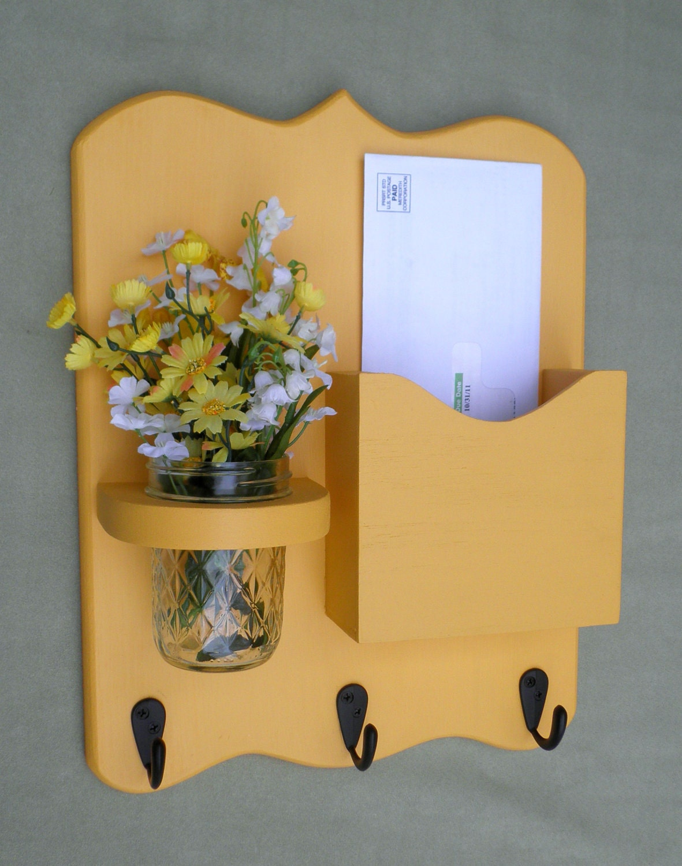 Mail organizer letter holder mail holder key by legacystudio - Letter rack and key holder ...