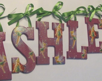 story 3 wall letters bedroom playroom summer by