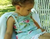 Ava Rose Robin's Egg Pillowcase Dress or Top