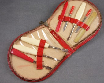 Vintage West German Manicure Kit