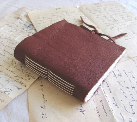 Burgundy Wine Leather Journal