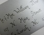 Calligraphy by Hand Envelopes for your Wedding Bar Bat Mitzvah