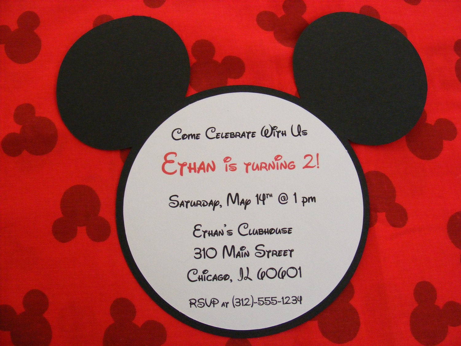 mickey invitations mickey mouse inspired birthday invitations