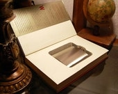 Hollow Book Safe & Flask - The DaVinci Code (Flask Included)