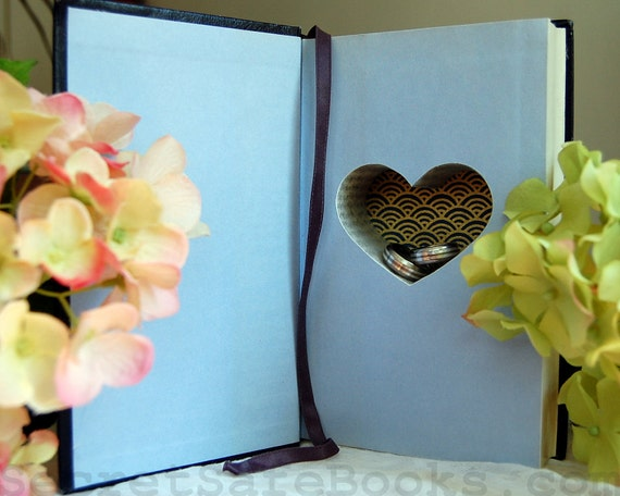 RESERVED for LAWRENCE Hollow Book Safe with Heart (Romance Treasury)