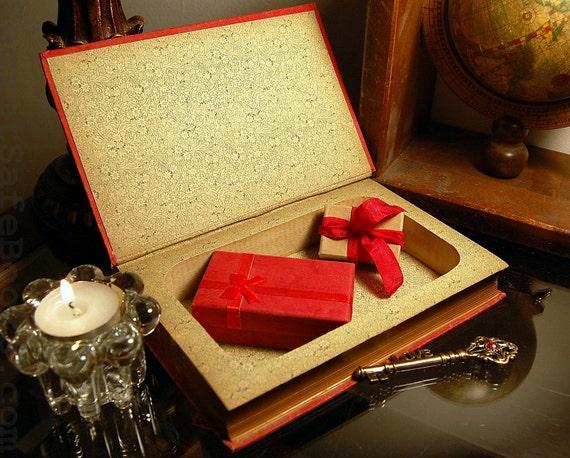 Hollow Book Safe (Circa 1880 Knickerbocker History of New York)