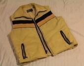 1970's Men's Vest  (((New Lower Price)))