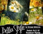 Pocket Full of Sunshine Paper Pack (digital papers)