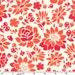 LAST 23 INCHES, Sandi Henderson, Secret Garden, Picnic Flowers in Coral
