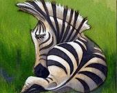 Sassy Zebra - PRINT