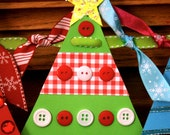 Christmas Tree Banner Craft Kit
