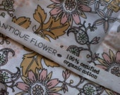 Miscellany 1/2 yard  100% Certified organic cotton
