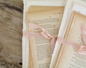 35 vintage book pages poems and french book pages