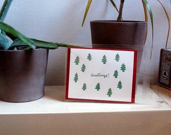 Greetings card - red envelope