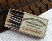 Fountain Pen Nibs in Original Box Vintage