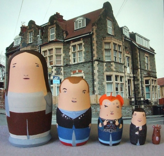 The Young Ones Matryoshka Dolls