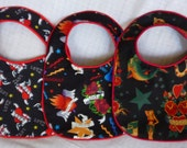 Tattoo Baby Bibs Punk Rock - set of 3 bibs