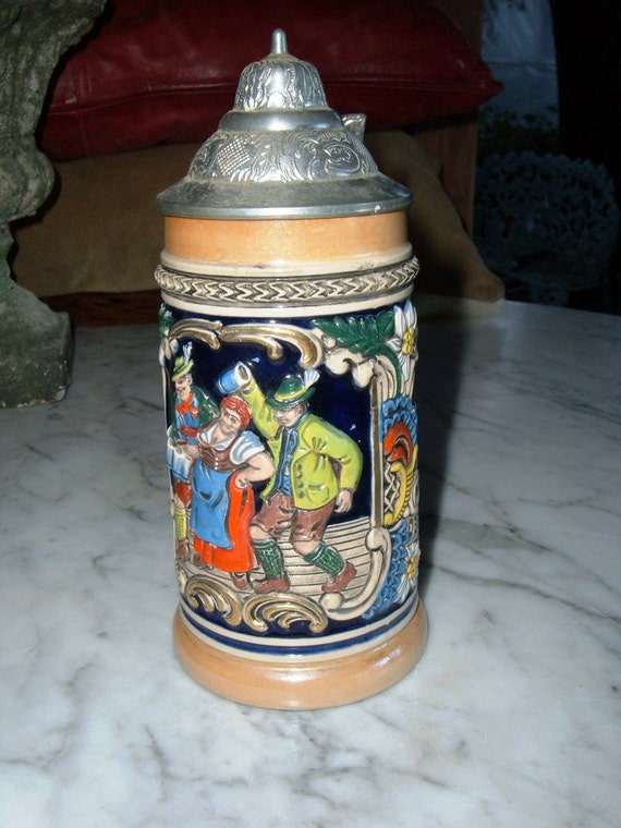 Small Gerz Beer Stein By Pearlsvintage On Etsy