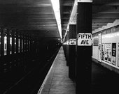 5th Ave Subway (1957) - Available In 3 Sizes