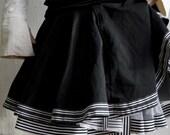 Alice in Wonderland black skirt