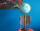 Vintage Floor Globe