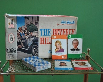 Vintage 1960s The Beverly Hillbillies Card Game