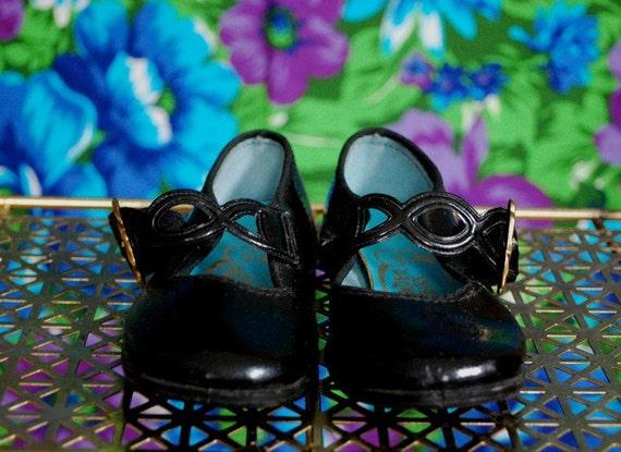 Vintage Toddler Girl's Dress Shoes- Size 6.5