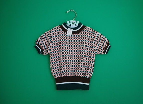 Vintage 1970s New Old Stock Boy's Shirt by Health-tex- Size 4