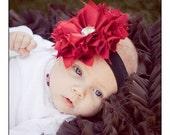 "NO SEW Fabric Flower PDF Tutorial ""Pouting Princess"" Fabric Flower Headband Pattern"