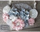 Tutorial Fabric Flower Pattern 4 Pack: Statement Necklace Flower Patterns
