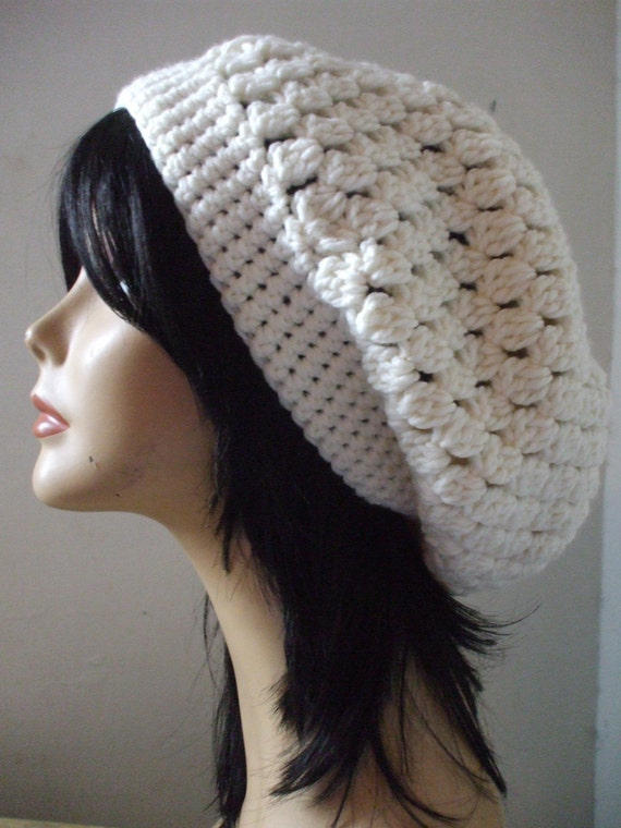 Free Crochet Pattern Slouchy Hat With Brim : Bohemian Slouchy Hat Women Crochet Slouchy Hat SUPER CUTE