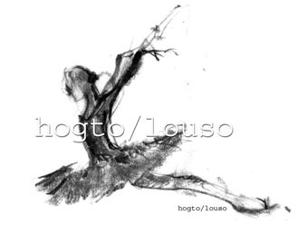 Black and White Ballet art, swan lake, ballerina art print, pencil drawing by BalletArt, sketch, artwork, dancer, dance wall art