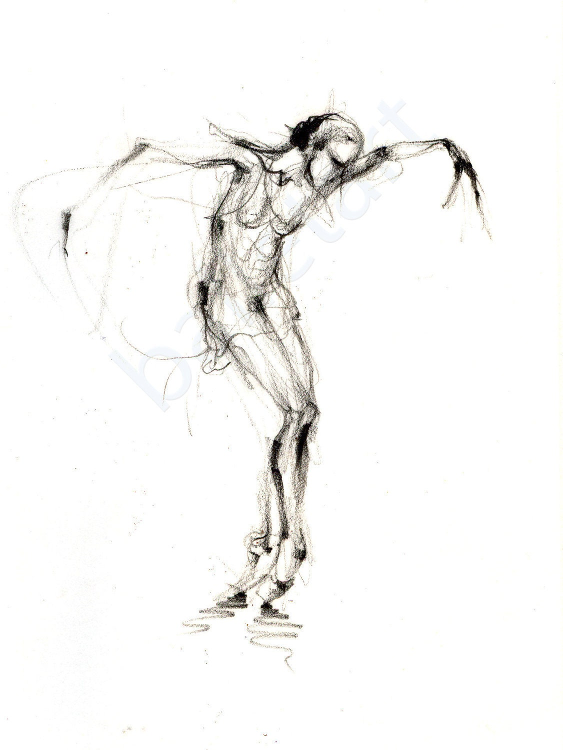 ballerina pencil drawing - photo #25