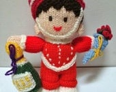 Knitted toy 'Congrats'