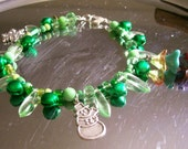 "Christmas Greenery 8"" Bracelet"
