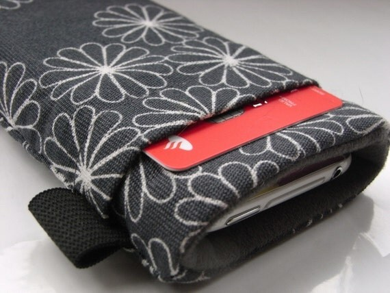 Iphone 4  Cover / iphone Case / Ipod Touch Classic / Smartphone sleeve / Wallet