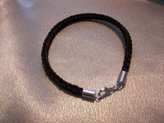 how to make your own horse hair bracelet