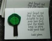 Kahlil Gibran tree card