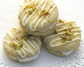 Pistachio Brandy Buttercreams - One Dozen