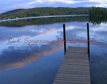 Lake Hortonia, Hubbardton, Vermont - Matted