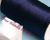 Rattail Satin Cord 2mm Navy Blue 5 yards or 15 feet   20 Colors Available