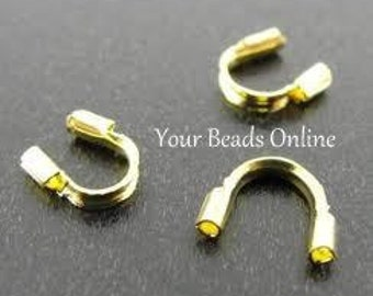 50 Wire Protector Wire Guardians Gold Plated
