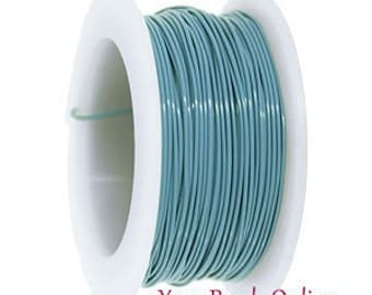 22 gauge Artistic Wire Powder Blue Wire Spool 45 feet or 15 yards