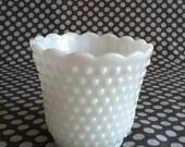 Vintage Fire-King Milk Glass Vase