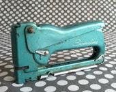 Vintage Swingline Teal Staple Gun
