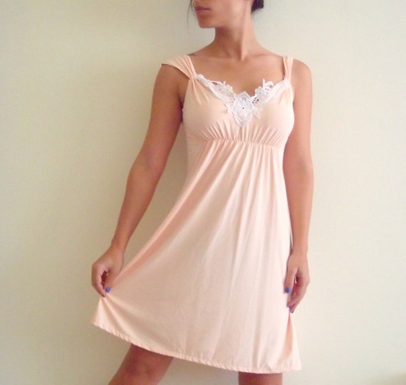 Peach dress/ Women dress/ On sale dress/ Summer dress/