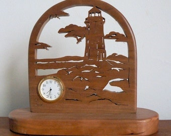 The Lighthouse desk clock