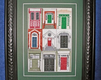 Fredericton Doors Counted cross stitch kit