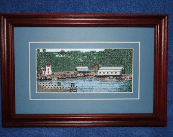 St. Martin's Harbour Counted cross stitch kit