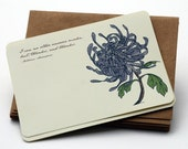Thank You, Thank You -Set of 10 flat Notecards and Envelopes